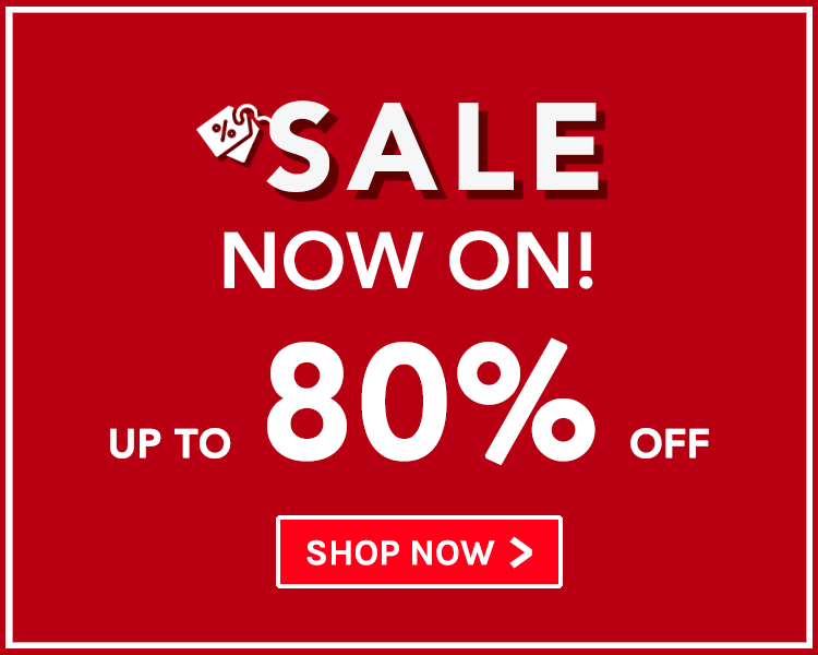 Up To 80% Off! Sale